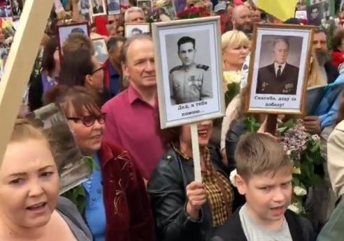 Примусові антиукраїнські мітинги на окупованому Донбасі