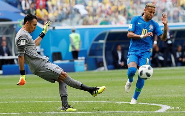 ЧС-2018: Бразилія - Коста-Рика 2:0. Онлайн
