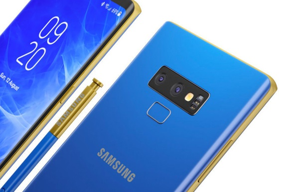 Samsung Galaxy Note9 показали на нових зображеннях