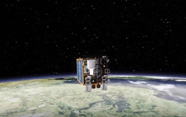 У космос запустили супутник-прибиральник