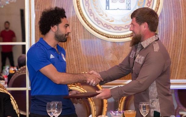 Нападающий сборной Египта стал почетным гражданином Чечни