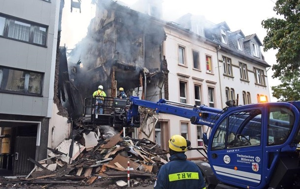 В Германии взорвался жилой дом, есть пострадавшие