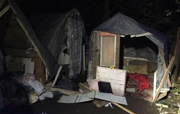 На табір ромів у Львові напали члени незареєстрованого угруповання