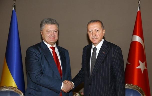 Порошенко привітав Ердогана з перемогою на виборах