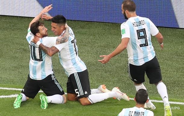 ЧМ-2018: Нигерия – Аргентина 1:2. Онлайн