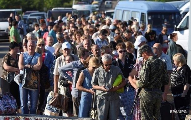Названа кількість переселенців із Донбасу і Криму