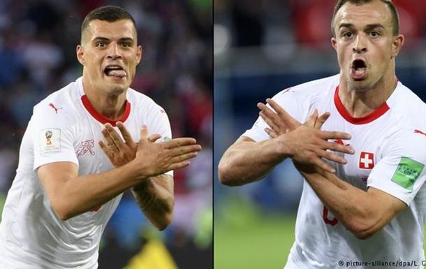 Скандальний матч Швейцарія-Сербія: м яке покарання від ФІФА