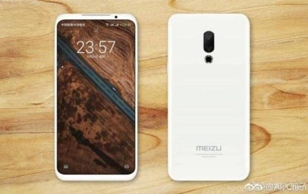 З явилися нові зображення флагмана Meizu 16