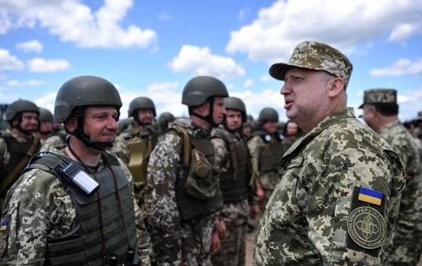 Турчинов: В Україні з явиться півмільйонна армія