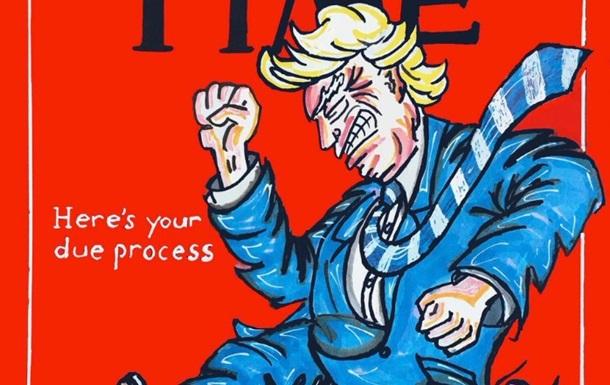 Джим Керрі намалював дитини, яку лупцює Трамп