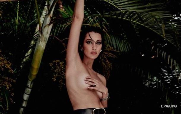 Белла Хадид снялась топлес в новой фотосессии