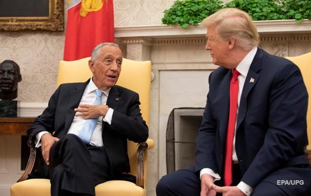 Президент Португалии передал Трампу привет от Путина