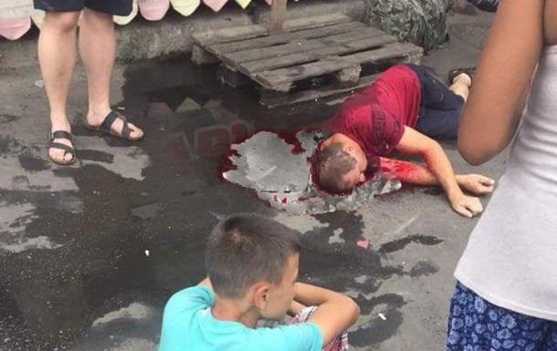 В Одессе на рынке Привоз избили мужчину
