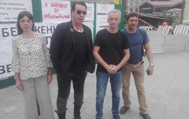 В Киеве заметили лидера Rammstein