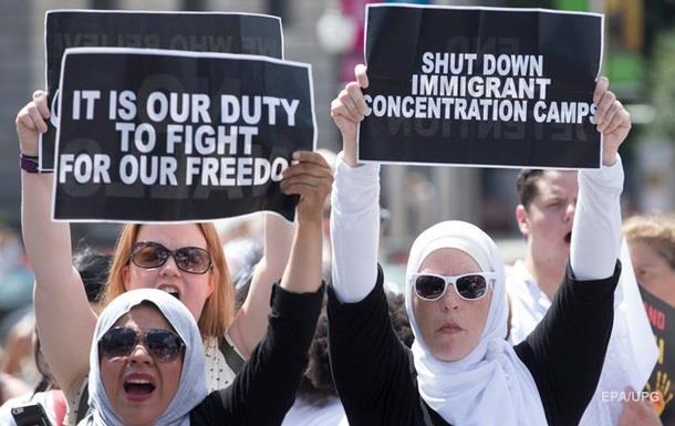 У Вашингтоні заарештовані сотні протестувальників проти Трампа