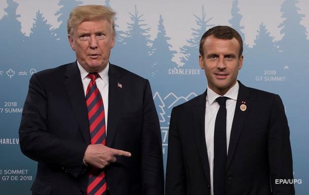 Трамп пропонував Макрону вивести Францію з ЄС - ЗМІ