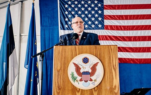 Посол США в Эстонии подал в отставку