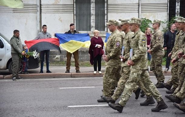 У Львові пройшов парад десантників