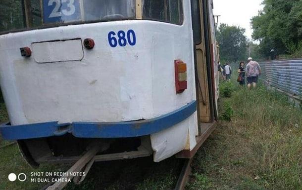 У Харкові в трамвая на ходу відмовили гальма