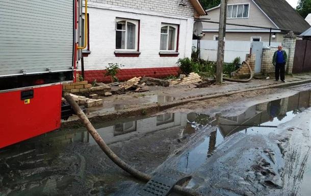 У Чернігові залишаються підтопленими 19 вулиць