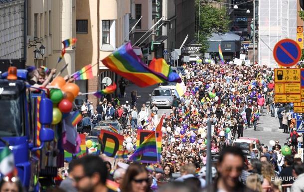 У Гельсінкі гей-парад зібрав 100 тисяч учасників