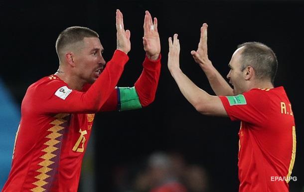 ЧМ-2018: Испания - Россия 1:1 (3:4). Онлайн