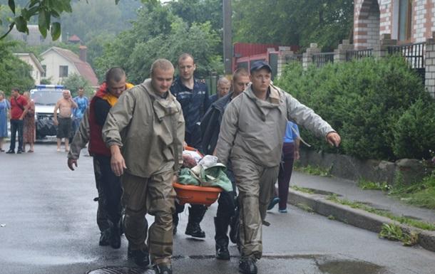 У Чернігові від води постраждали 40 вулиць