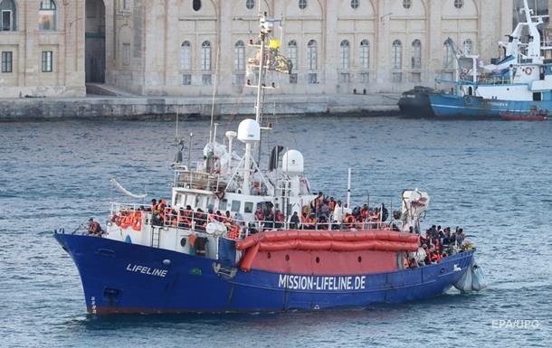 Італія закрила порти для кораблів із мігрантами
