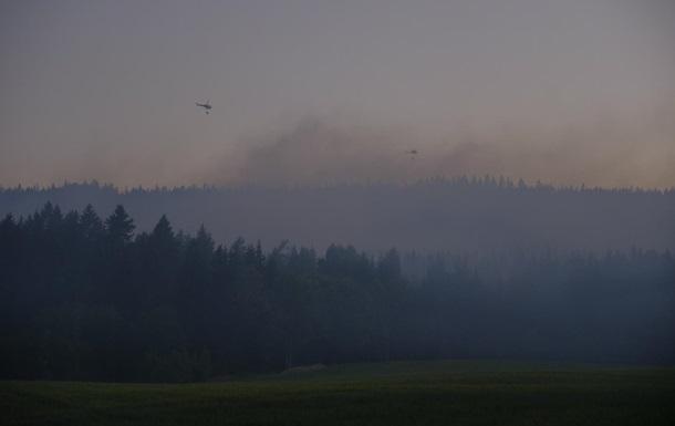Норвегию охватили лесные пожары