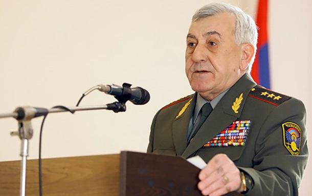 У Вірменії оголосили в розшук екс-міністра оборони