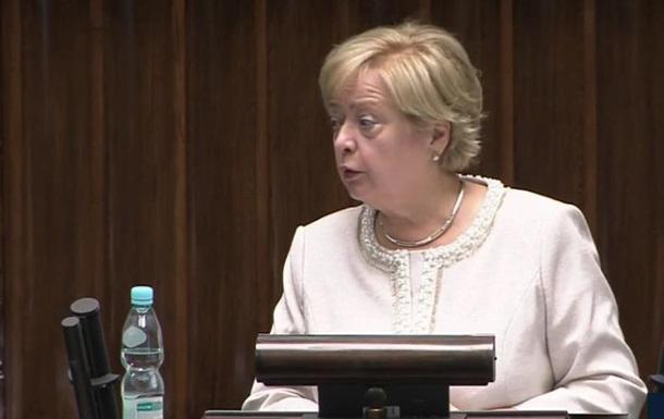 В Польше из-за скандальной реформы отправили в отставку верховного судью