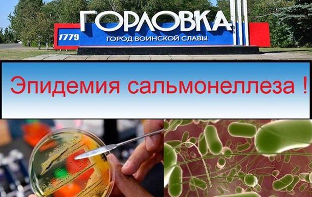 Рост заболеваемости сальмонеллезом в Горловке