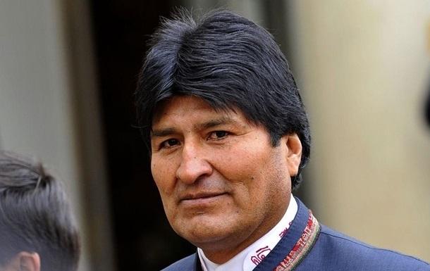 Президента Болівії госпіталізували