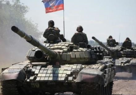 Гради , танки і САУ: терористи продовжують зосереджувати військову техніку