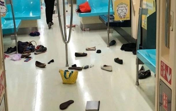 На Тайвані щур викликав тисняву у вагоні метро, є постраждалі