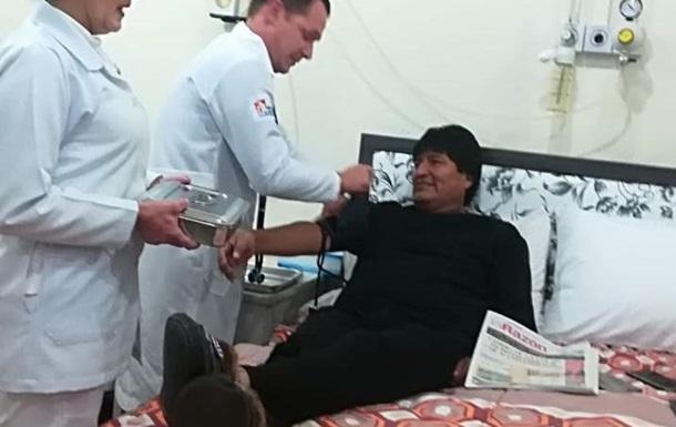 Президента Боливии прооперировали после обнаружения опухоли