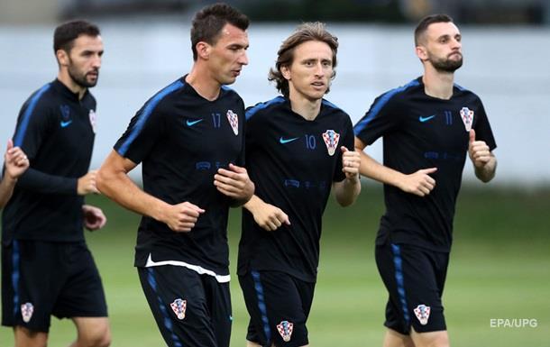 Матч Россия - Хорватия
