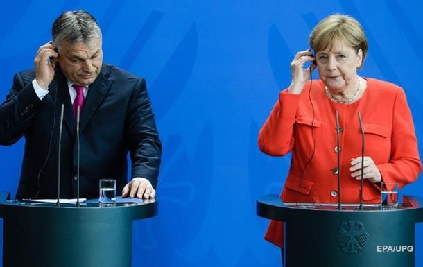 У Меркель и Орбана разногласия в вопросе миграции
