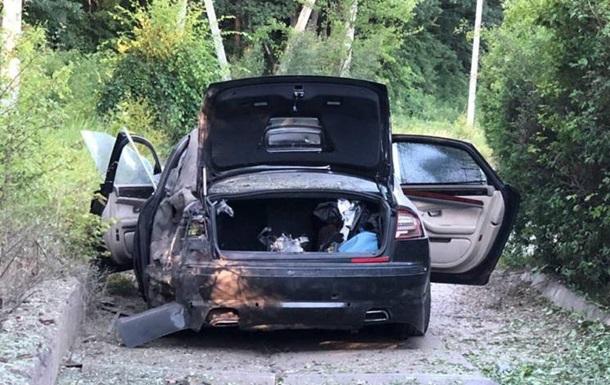 В Харькове взорвался автомобиль гендиректора фармкомпании