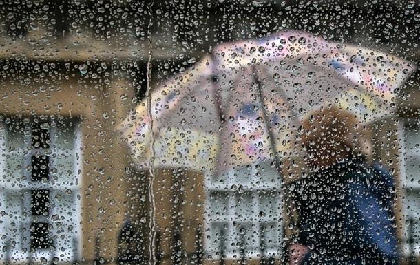 На выходных Украину накроют дожди