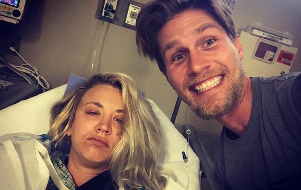 Звезда Теории большого взрыва после свадьбы угодила в больницу