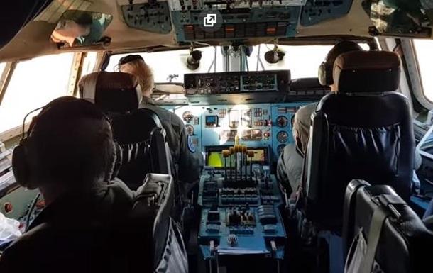 Пилоты сняли видео взлета из кабины Ан-225 Мрия