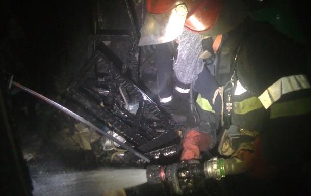 В Харькове горел жилой дом, эвакуировали 85 человек