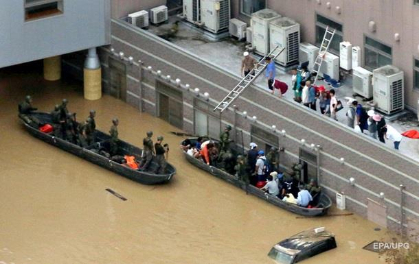 Наводнение в Японии: число жертв возросло до 70
