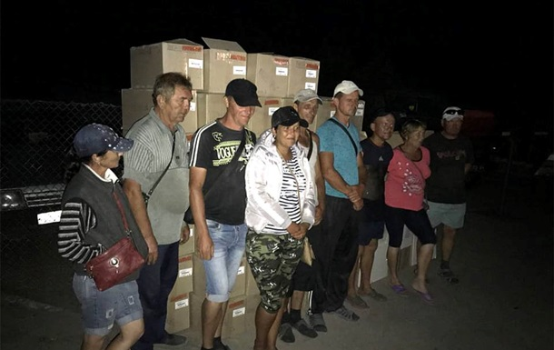На Донбассе незаконно пытались провести товаров почти на 2 млн гривен