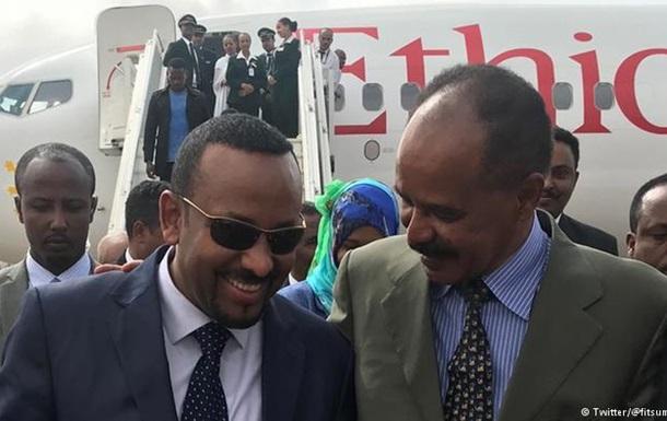 Лідери Ефіопії та Еритреї домовляються про мир між країнами