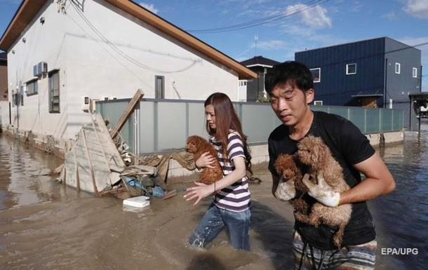 Число жертв стихии в Японии превысило 80 человек