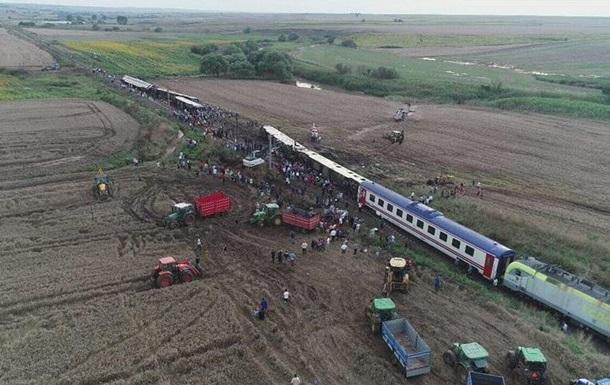 Аварія поїзда в Туреччині: кількість загиблих збільшилася до 24