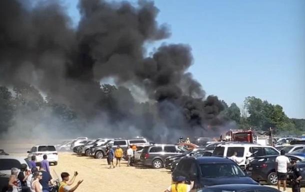 На фестивале в Канаде сгорели 34 авто