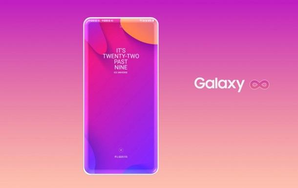 Появился рендер премиального безрамочного смартфона Samsung